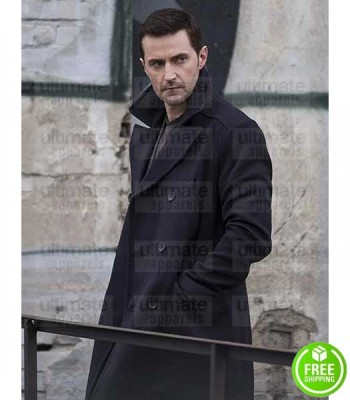BERLIN STATION RICHARD ARMITAGE (DANIEL MILLER) COAT