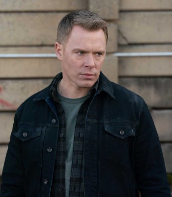 THE BLACKLIST DIEGO KLATTENHOFF BLACK JACKET