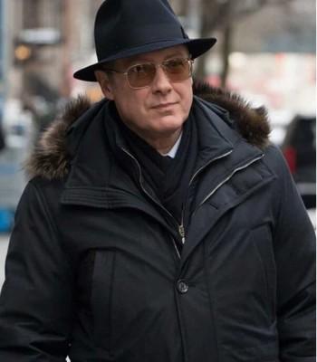 THE BLACKLIST JAMES SPADER COTTON COAT