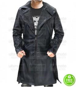 Blade Runner 2049 Officer K Fur Leather Coat