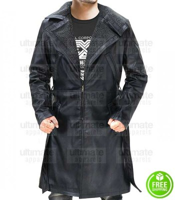 Blade Runner 2049 Officer K Fur Leather Coat