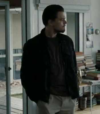 BODY OF LIES LEONARDO DICAPRIO BLACK JACKET