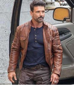 BOSS LEVEL FRANK GRILLO (ROY PULVER) LEATHER JACKET