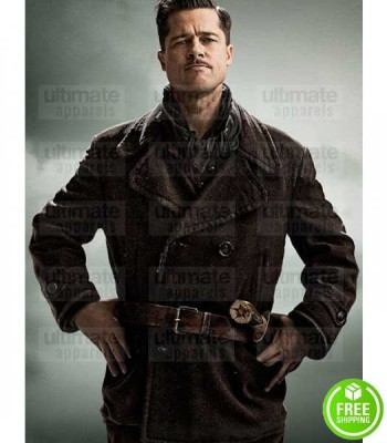 INGLOURIOUS BASTERDS BRAD PITT (ALDO RAINE) WOOL COAT