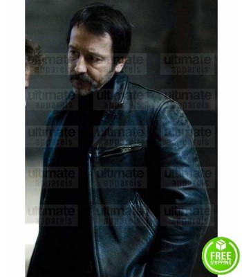 BRAQUO JEAN_HUGUES ANGLADE (EDDY CAPLAN) BLACK LEATHER JACKET