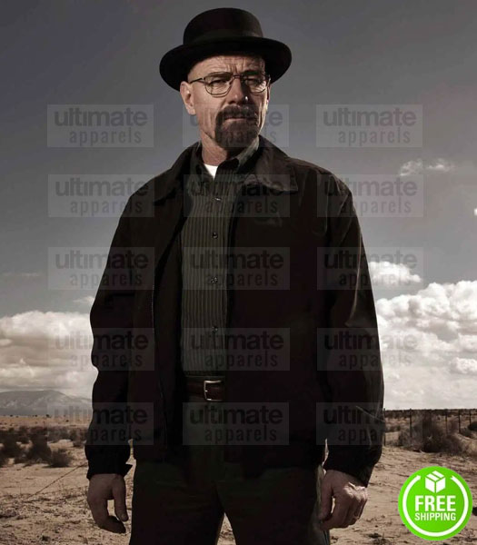 BREAKING BAD WALTER WHITE (BRYAN CRANSTON) SUEDE JACKET