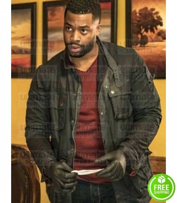 CHICAGO P.D LAROYCE HAWKINS (KEVIN ATWATER) BLACK COTTON JACKET