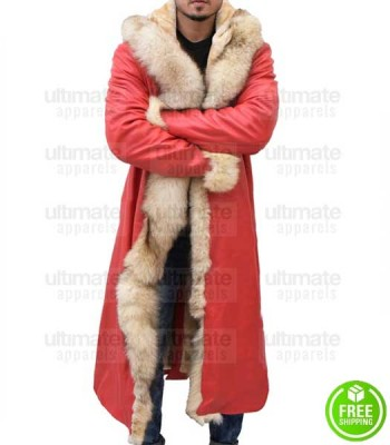 CHRISTMAS CHRONICLES KURT RUSSELL (SANTA CLAUS) LEATHER COAT