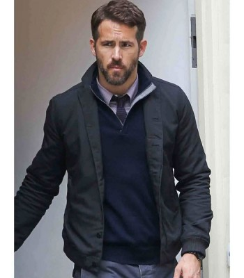 CRIMINAL MOVIE RYAN REYNOLDS BLACK JACKET