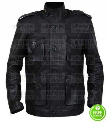 DARK MATTER ANTHONY LEMKE LEATHER JACKET