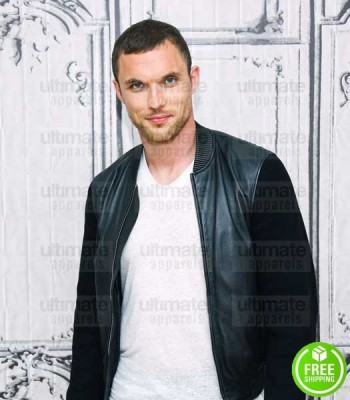 DEADPOOL ED SKREIN (AJAX) LEATHER JACKET