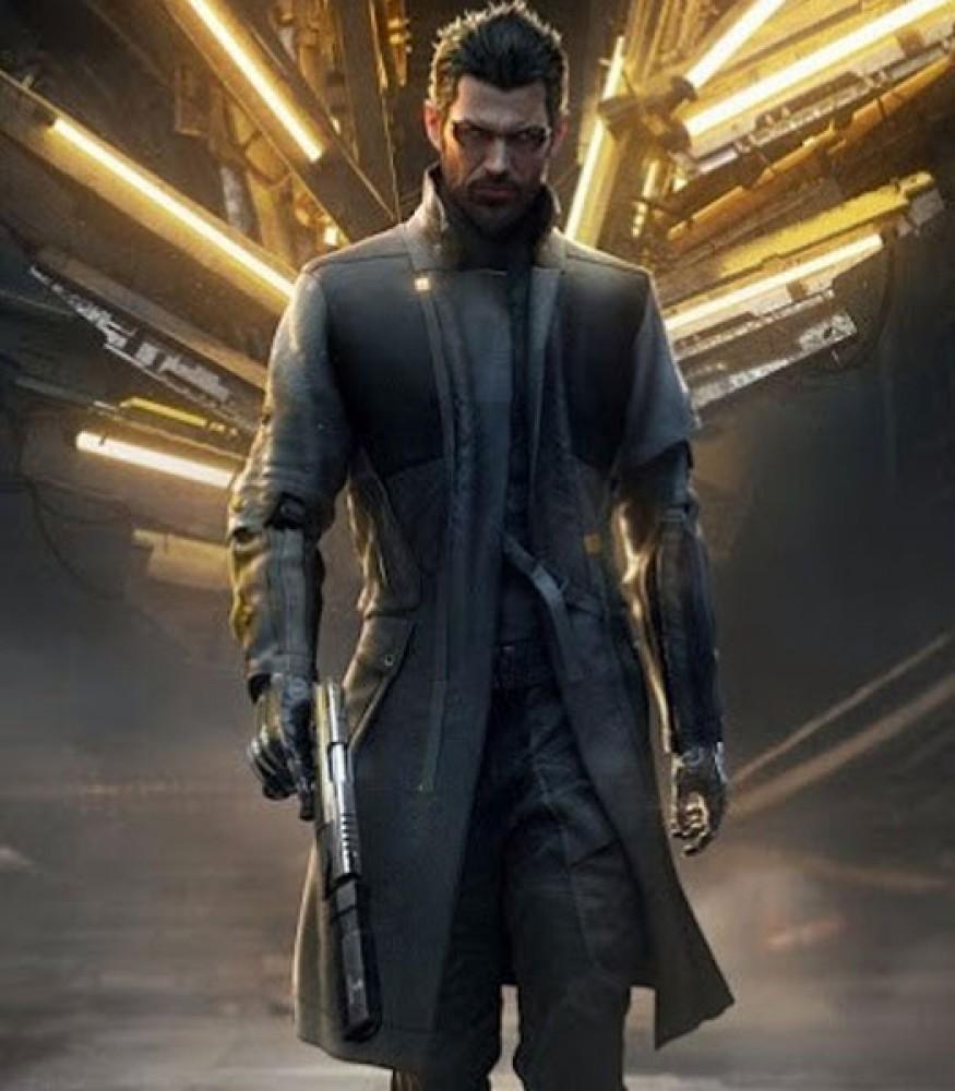 DEUS EX MANKIND DIVIDED GAME ADAM JENSEN BLACK COAT