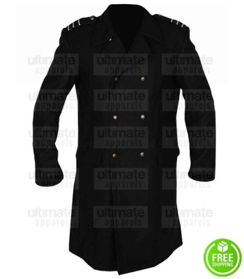DOCTOR WHO JOHN BARROWMAN (CAPTAIN JACK HARKNESS) BLACK COAT