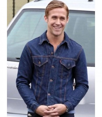 DRIVE RYAN GOSLING DENIM JACKET