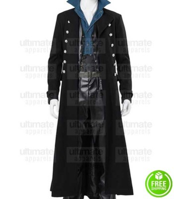 FANTASTIC BEAST THE CRIMES OF GRINDELWALD JOHNNY DEPP (GELLERT GRINDELWALD) COAT