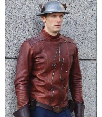 Flash Season 2 Jay Garrick Leather Jacket
