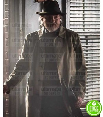 GOTHAM DONAL LOGUE (HARVEY BULLOCK) TRENCH COTTON COAT
