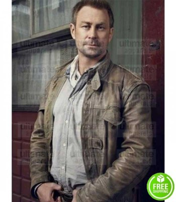 DEFIANCE GRANT BOWLER (JOSHUA NOLAN) LEATHER JACKET
