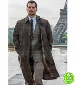 MISSION IMPOSSIBLE FALLOUT AUGUST WALKER (HENRY CAVILL) TRENCH COAT