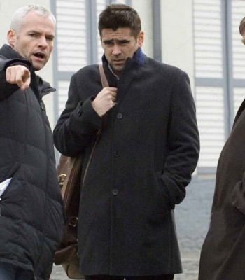 IN BRUGES COLIN FARRELL (RAY) BLACK COAT