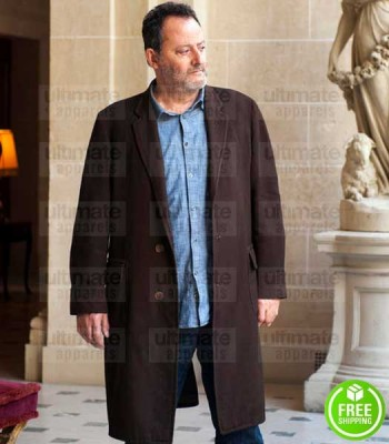 JO JEAN RENO (JO ST-CLAIR) BROWN SUEDE LEATHER COAT