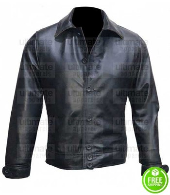 KINGSMAN THE GOLDEN CIRCLE PEDRO PASCALS (WHISKEY) LEATHER JACKET