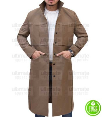 DC'S LEGENDS OF TOMORROW ARTHUR DARVILL (RIP HUNTER) WOOL COAT
