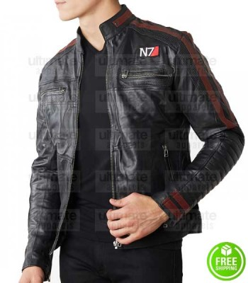 MASS EFFECT 4 N7 LEATHER JACKET