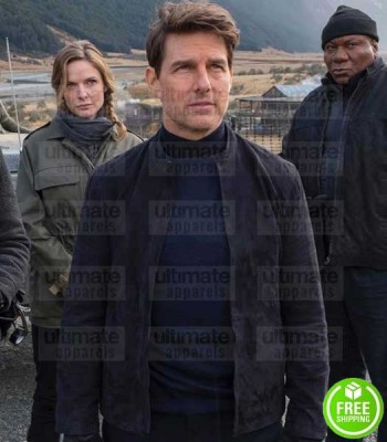 MISSION IMPOSSIBLE 6 TOM CRUISE BLACK COTTON JACKET