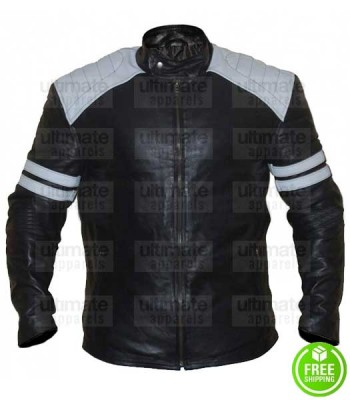 NERVE DAVE FRANCO (IAN) LEATHER JACKET