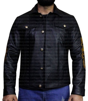 BAD BOYS FOR LIFE WILL SMITH (MIKE LOWREY) BLACK JACKET
