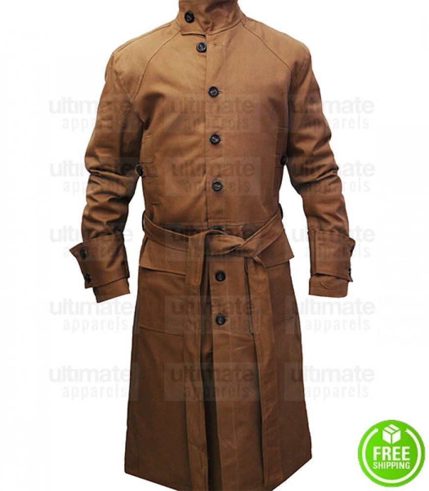 Blade Runner Harrison Ford (Rick Deckard) Trench Coat