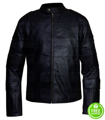 Dredd Karl Urban (Judge Dredd) Black Jacket