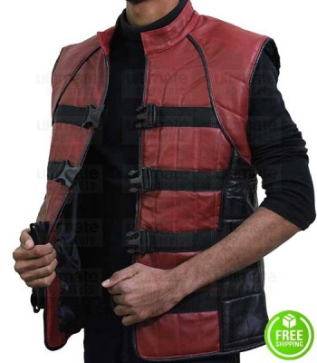 Farscape Ben Browder (John Crichton) Replica Leather Vest