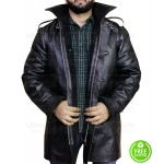 POWER 50 CENT (KANAN) BLACK FUR COLLAR JACKET