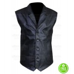 THE MAGNIFICENT SEVEN DENZEL WASHINGTON BLACK VEST
