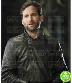 ONCE UPON A TIME EION BAILEY (AUGUST BOOTH) LEATHER JACKET