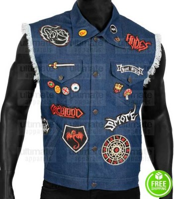 ONWARD CHRIS PRATT (BARLEY LIGHTFOOT) BLUE DENIM VEST