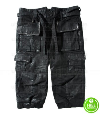 FINAL FANTASY XV NOCTIS LUCIS CAELUM LEATHER COSTUME SHORTS PANT