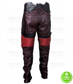 GUARDIANS OF THE GALAXY STAR LORD LEATHER PANT