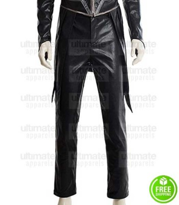 INHUMANS ANSON MOUNT (BLACK BOLT) BLACK LEATHER PANT