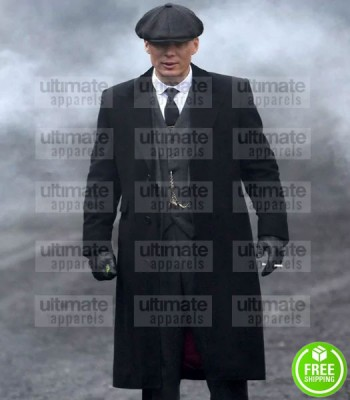 PEAKY BLINDERS CILLIAN MURPHY COTTON COAT