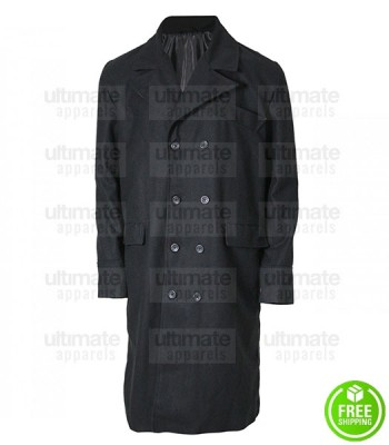 Public Enemies Johnny Depp (John Dillinger) Wool Black Coat