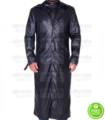 RESIDENT EVIL 5 D.C. DOUGLAS LEATHER COAT