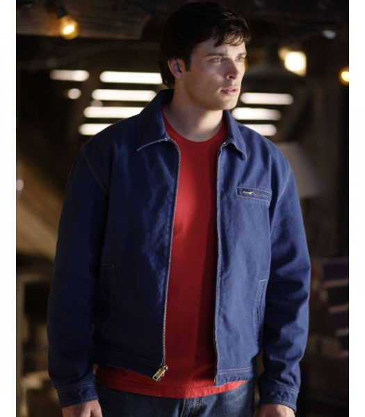 SMALLVILLE TOM WELLING (SUPERMAN) JACKET