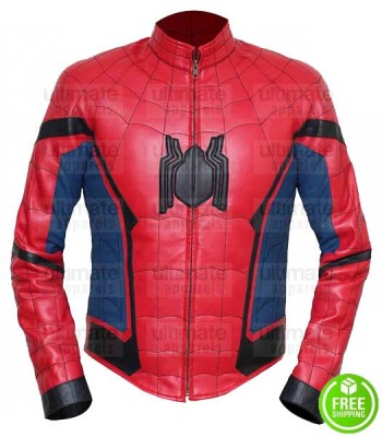 SPIDER-MAN HOMECOMING TOM HOLLAND LEATHER JACKET
