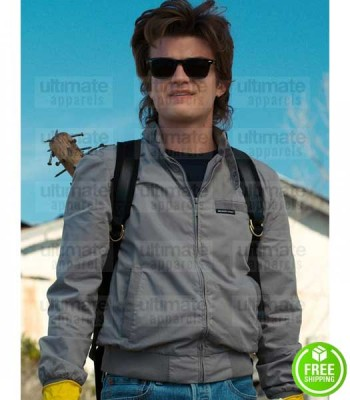 STRANGER THINGS JOE KEERY (STEVE HARRINGTON) COTTON JACKET