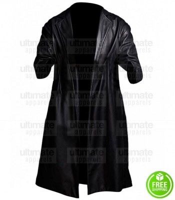 SUPERFLY TREVOR JACKSON (YOUNGBLOOD PRIEST) LEATHER COAT