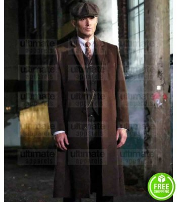 SUPERNATURAL JENSEN ACKLES (DEAN WINCHESTER) BROWN WOOL COAT