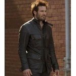 TAKEN TV SERIES BRYAN MILLS BLACK JACKET